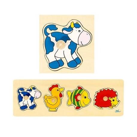 Puzzle Premier Age  Jouet en bois pour Bébé  Enfant 1 ans +
