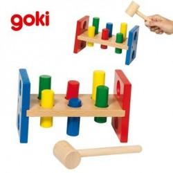 Banc à marteler Jouet en bois éducatif d'éveil Enfant 2 ans +
