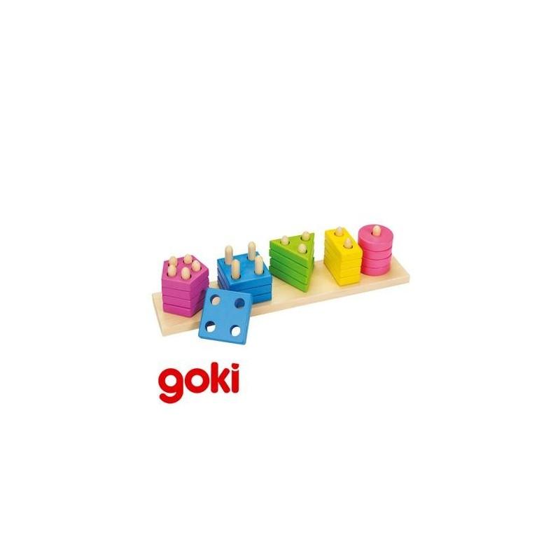 assortir les formes et couleurs jeu ducatif bois enfant 2 ans un jeux des jouets. Black Bedroom Furniture Sets. Home Design Ideas