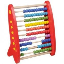 Grand Boulier en bois massif Apprendre à Compter Abacus 1 an +