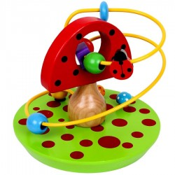 Jout éveil bébé Circuit de motricite champignon Enfant 1 an +