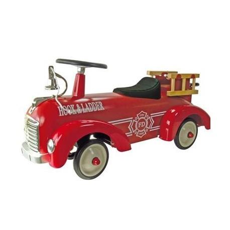 Porteur bébé voiture de Pompier