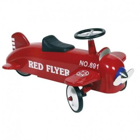 Porteur trotteur bébé Avion en métal