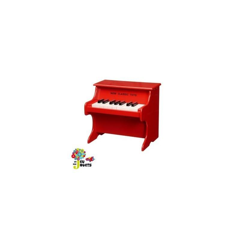 piano en bois jouet musical instrument de musique enfant 2 ans un jeux des jouets. Black Bedroom Furniture Sets. Home Design Ideas