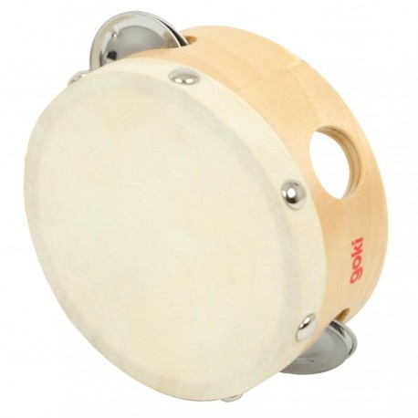 Tambour 3 cymbales peau naturelle