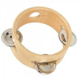 Tambourin 3 cymbales Instrument de musique enfant