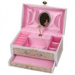 Boîte à bijoux danse boite à musique danseuse ballerine fille