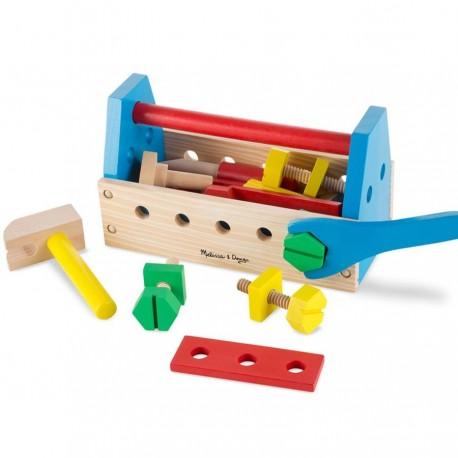 Jouet caisse à outils 24 pcs en bois