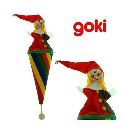 Marotte cirque Marionnette jouet en bois Enfant 3 ans +