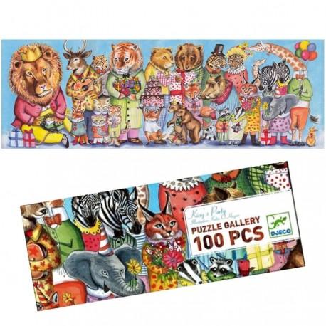 Puzzle Djeco 100 pièces King's Party