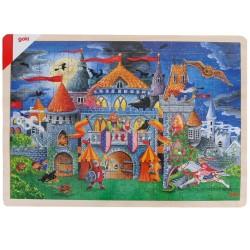 Puzzle en bois 6 ans contes de fée