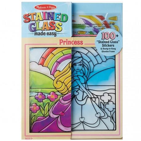 Kit Vitrail Enfant 100 stickers - Princesse