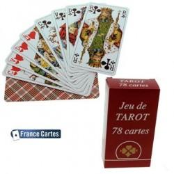 Jeu de cartes Tarot de compétition 78 cartes étui carton