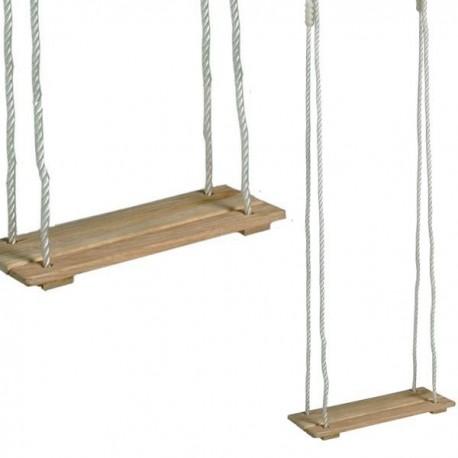 Balançoire en bois pour portique jusqu'à 75 kg