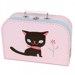 Valise chambre enfant Animal Malette Chat