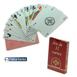 Jeu de Compétition 32 cartes étui carton