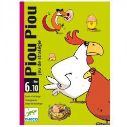 Cartes à jouer enfants Djeco Piou Piou