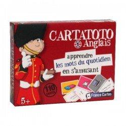 Jeu pour apprendre l'Anglais  Cartatoto Anglais Les mots du quotidien 1