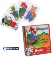 Cartes à jouer enfant jeu éducatif Dagobert Cocorico