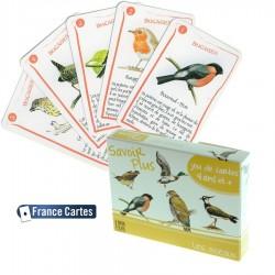 Jeu de cartes 7 familles Savoir Les oiseaux