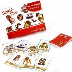 Jeu de cartes éducatif 7 familles Savoir + La Mythologie Enfant 6 ans +