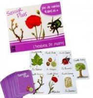 Jeux de cartes éducatif 7 familles Savoir + Herbier de Mamy Enfant 6 ans +