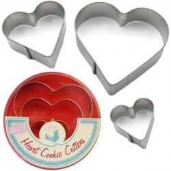 3 Emporte-pièces coeur