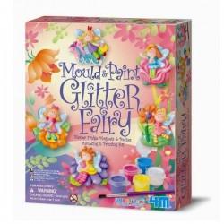 Kit de moulage filles Badges et Magnets Fées Loisirs créatifs 6 ans +