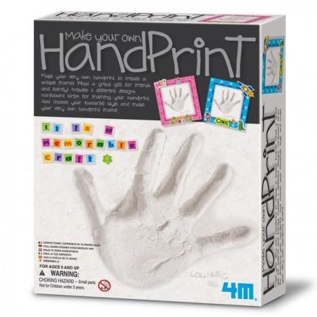 Kit de moulage empreintes pour faire les  empreintes de main et de pied bébé