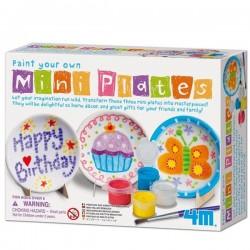 Kit de peinture céramique petites assiettes Enfants 5 ans +