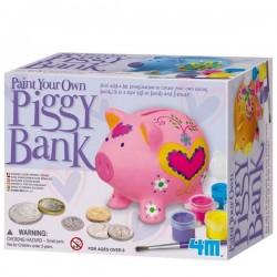 Tirelire cochon à peindre Kit de loisirs créatifs Enfants
