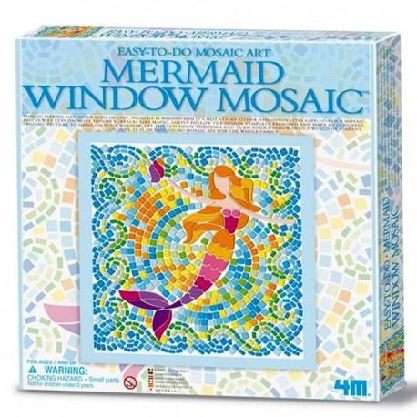 Kit Mosaique enfant Sirène Loisirs créatifs pour Enfants fille 7 ans +