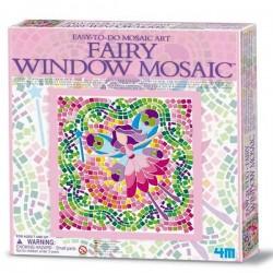 Kit de Mosaique fille Fée Loisirs créatifs Enfants 7 ans +