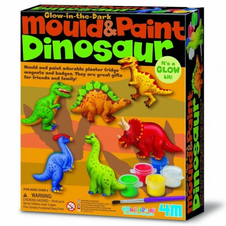 kit magnets enfant Dinosaures 4M