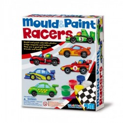 kit magnets garcon Voiture de courses 4M