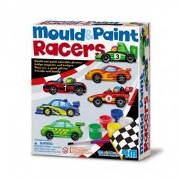 kit moulage et peinture Magnets Badges Voitures de courses