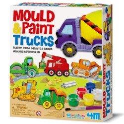 Kit moulage Badges Magnets Camion de construction