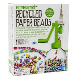 Kit Perles en papier recyclé pour enfants 6 ans +