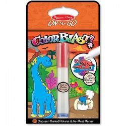 Coloriage feutre magique - Dinosaure