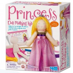 Kit de couture fabriquer ta Princesse Loisirs créatifs filles 6 ans
