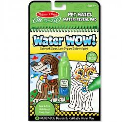 Stylo à eau magique - Labyrinthe animaux
