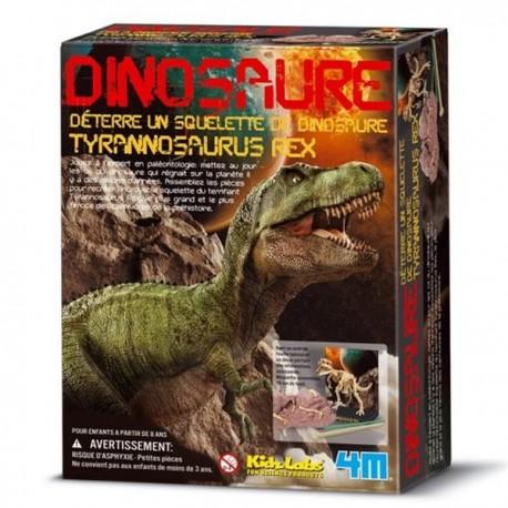 Deterrer un dinosaure Tyrannosaure rex Kit de construction garçons 8 ans +