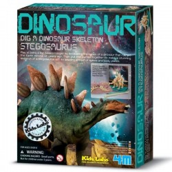 Kit de construction dinosaure Deterre ton dinosaure stégosaure garçons 8 ans +