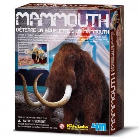 Kit de construction Mammouth Deterre ton Mammouth garçons 8 ans +