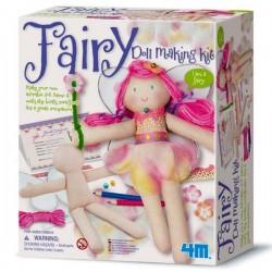 Fabriquer une poupée fée Kit Loisirs créatifs pour filles 6 ans +