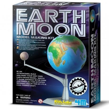 kit de modélisme Terre et Lune Jeu de construction Fabriquer