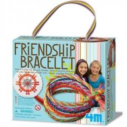 Faire des bracelets d'amitié en fil de coton Kit de fabrication 4M