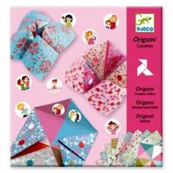 Pliage papier Djeco Origami cocottes à gages