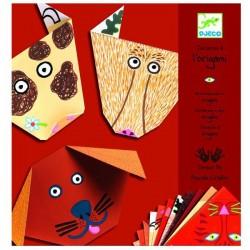 Origami pliage papier Djeco animaux loisirs créatifs