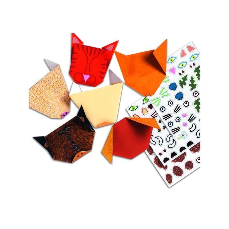 origami pliage papier les animaux pour les enfants de 4 10 ans. Black Bedroom Furniture Sets. Home Design Ideas
